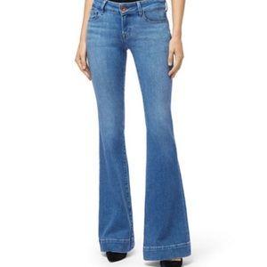 J Brand | Lovestory Light Bell Bottom Flare Jeans